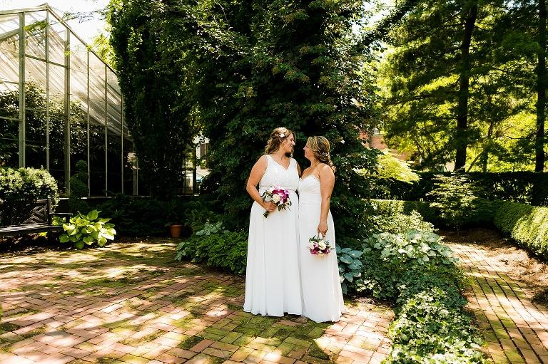 St Charles Conservatory Wedding Melissa Kelly